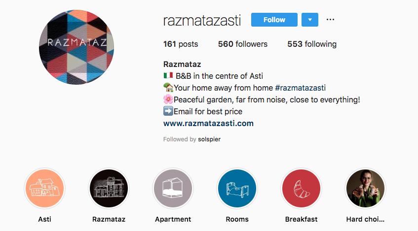 Razmataz Instagram Profile