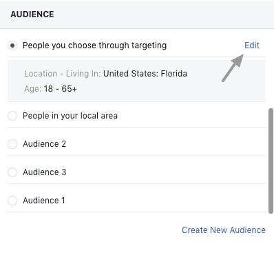 Facebook behaviors