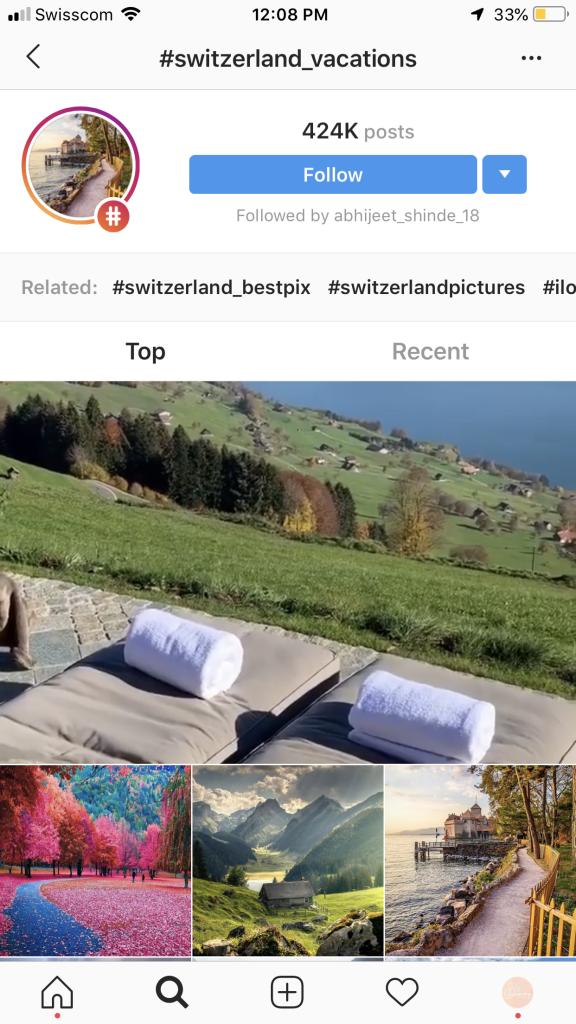 instagram hashtags hotels