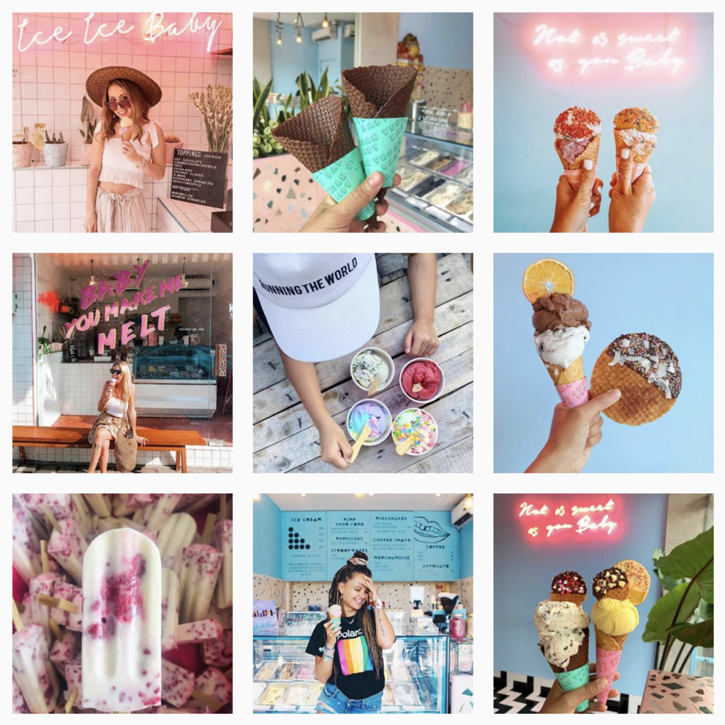 ice cream marketing
